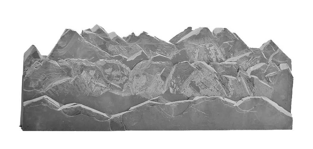 Snowdonia - Slate - 1200L x 450H x 80D